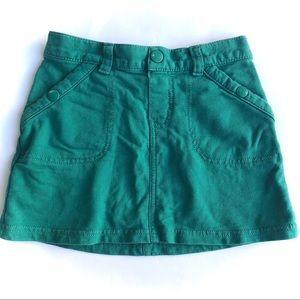 Greenish blue Crazy 8 skirt size 5-6